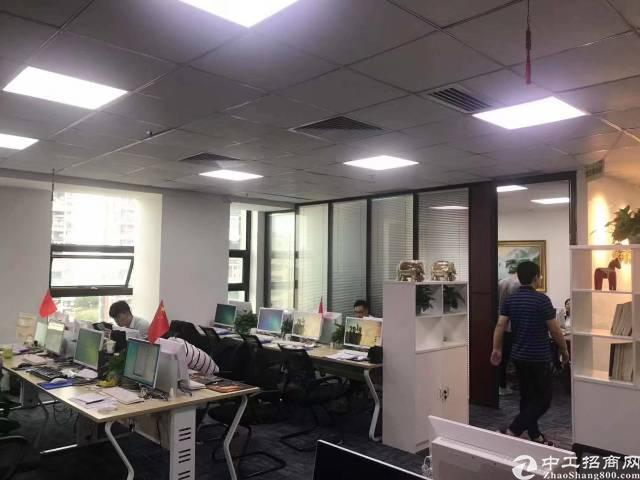 深圳龙华地铁口288平写字楼出租