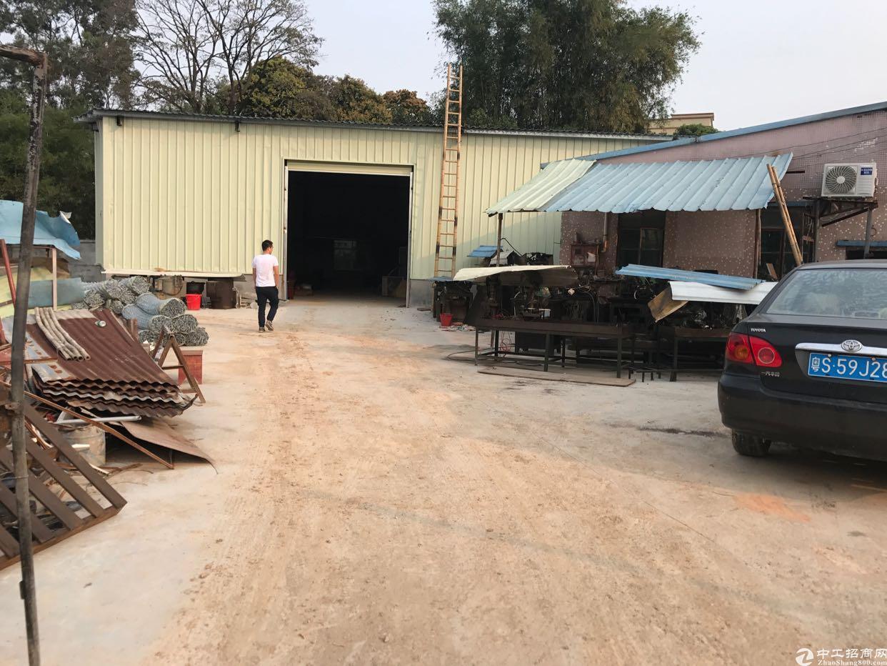 塘厦莆心湖原房东钢构厂房900平方米出租