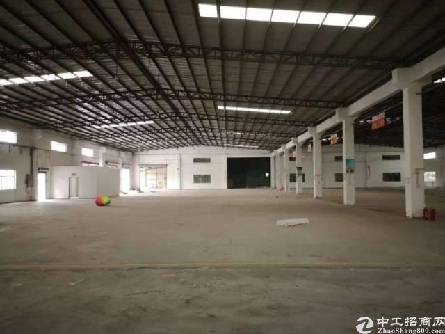 福永钢构3250平国道边物流仓库生产加工可短期招租