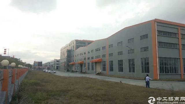 坪山主干道边大工业园独院单层红本钢构78000平,可办环评