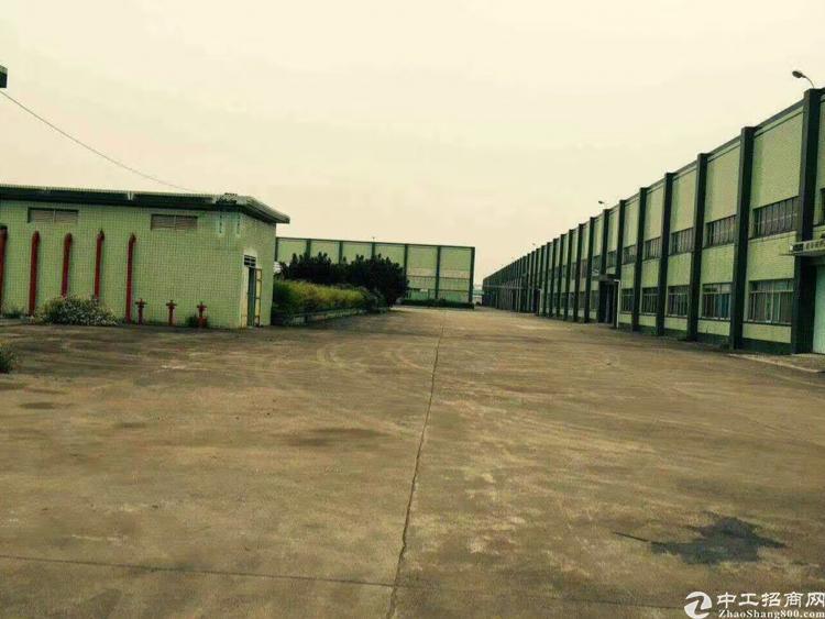 广东中山市全新国有证单一层厂房出售