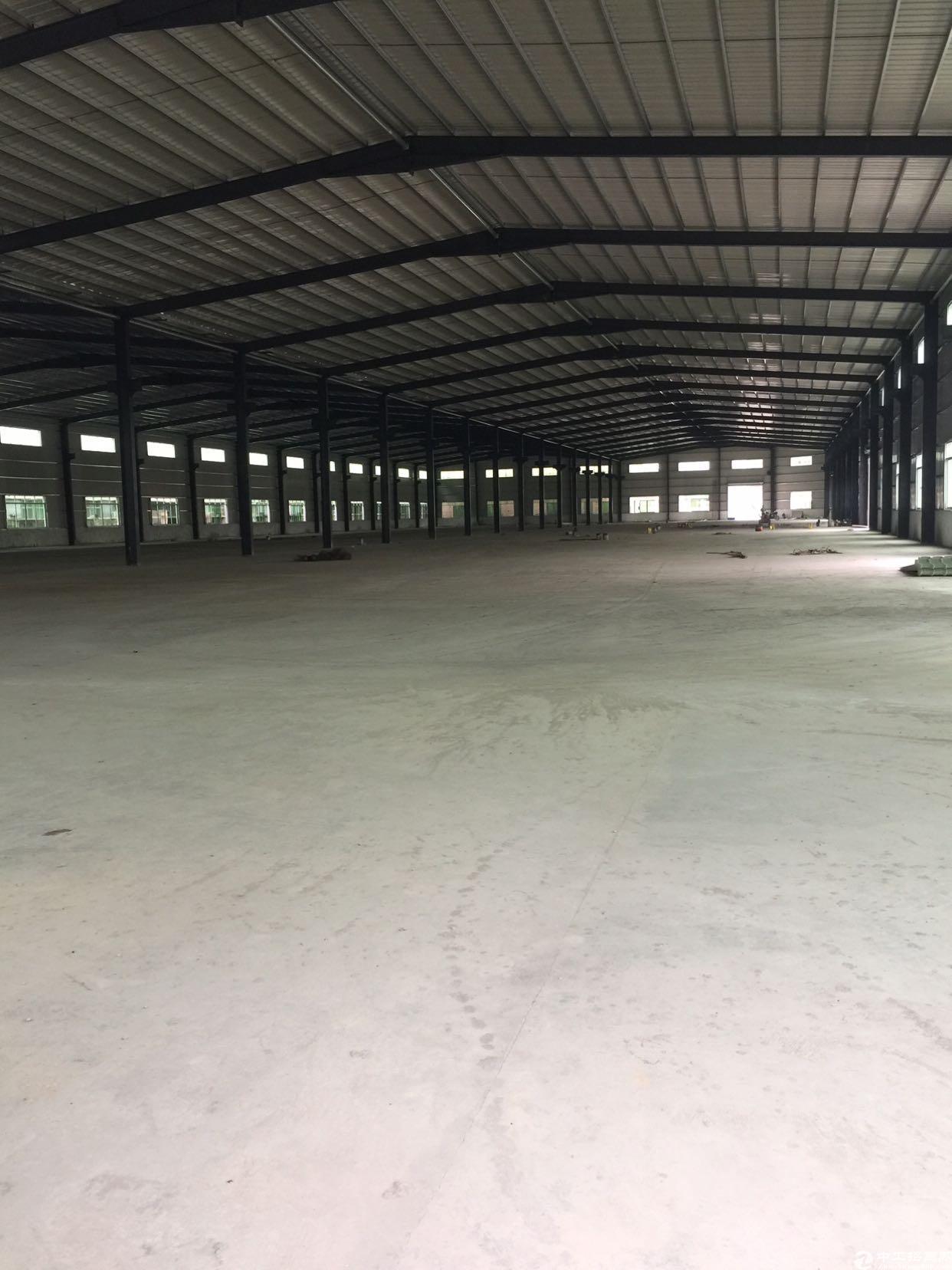 惠州市博罗县原房东钢构单一层厂房招租
