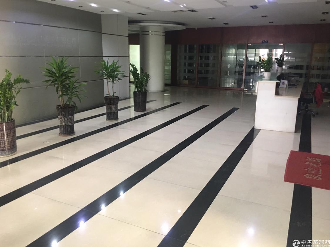 福永镇大型工业区纯办公厂房2600平方豪装出租,没有转让费