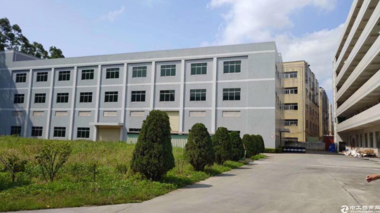 黄江镇原房东直租厂房6000平米,可以分层出租,无公摊水电齐