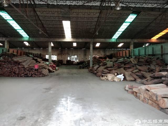 观澜高速出口钢构厂房8000平租25