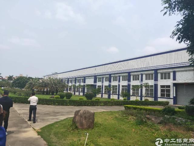 惠州市原房东四万平方钢结构厂房招租滴水十米