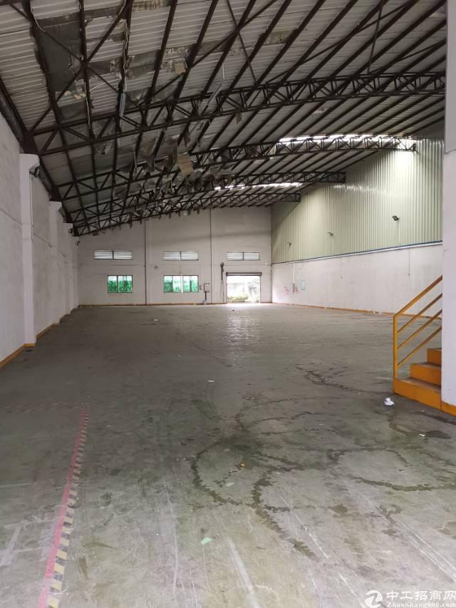 石碣新出钢结构厂房1000平方,有现成办公室装修,水电齐全