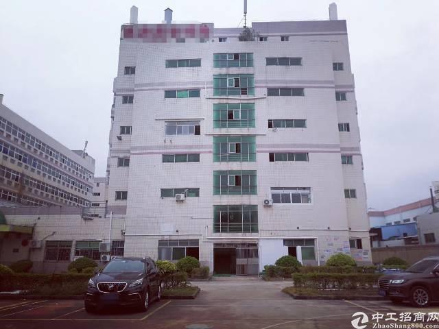 沙井西部工业区楼上955平米厂房出租有喷淋