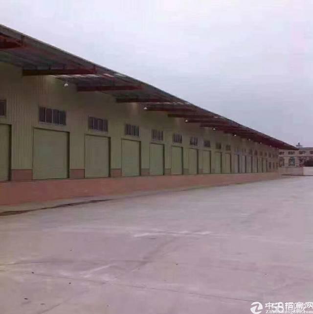 惠州市区附近带卸货平台仓库招租。位置好可进大车