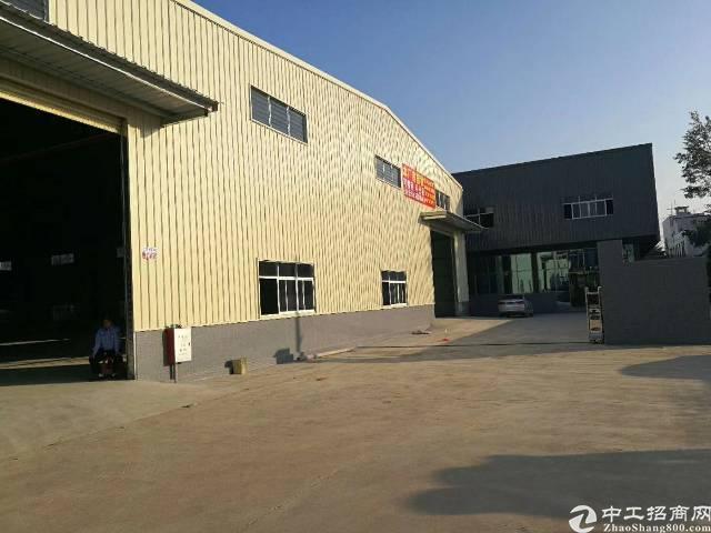 石排新出独院厂房两套,A栋带院子面积2280平,滴水9米