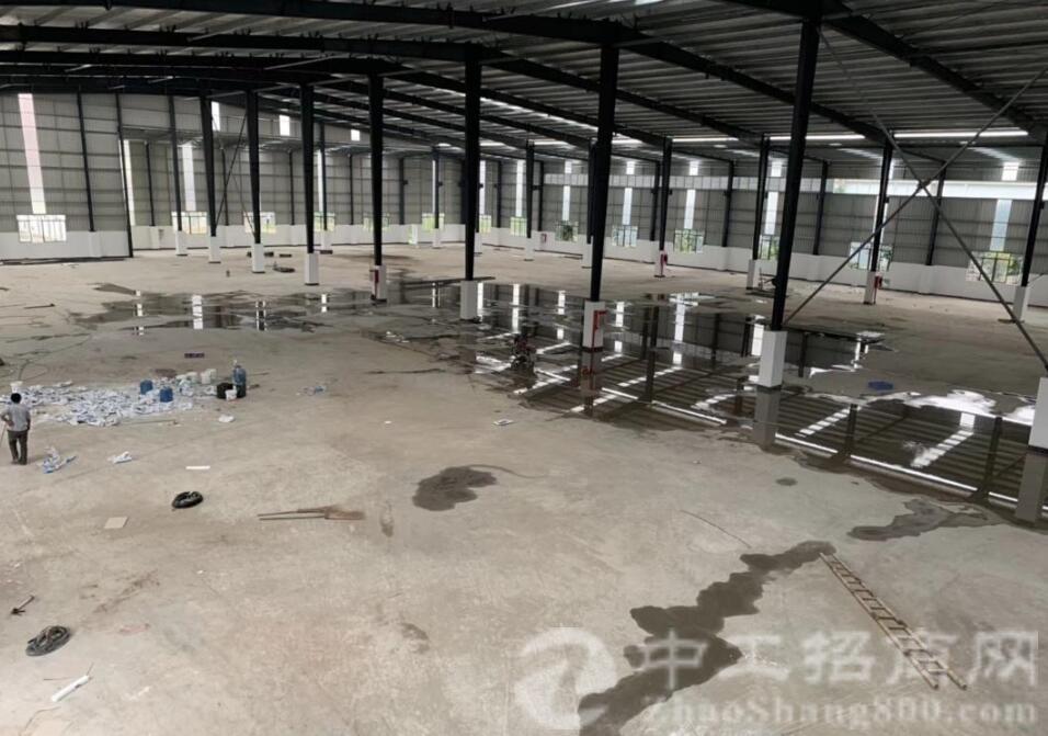 惠州博罗近东莞单一层厂房正件齐全可办环评!-图3