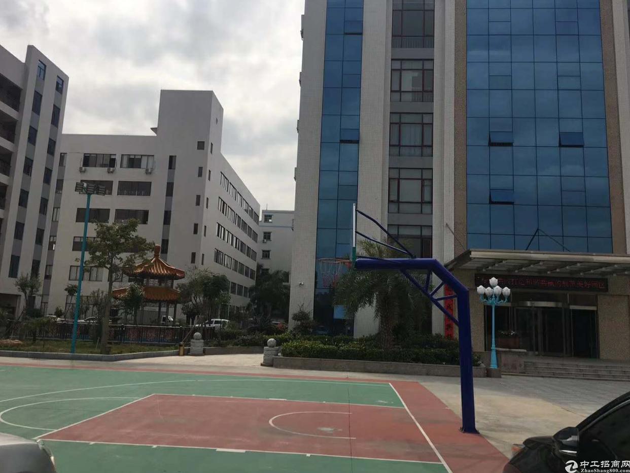 塘厦科苑城高速出口附近新出楼上厂房出租