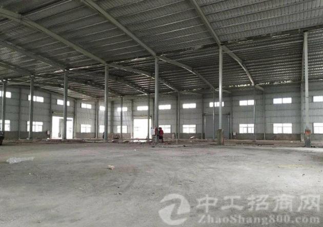 洪梅高速出口,原房东国有证12000平米全新厂房仓库出租
