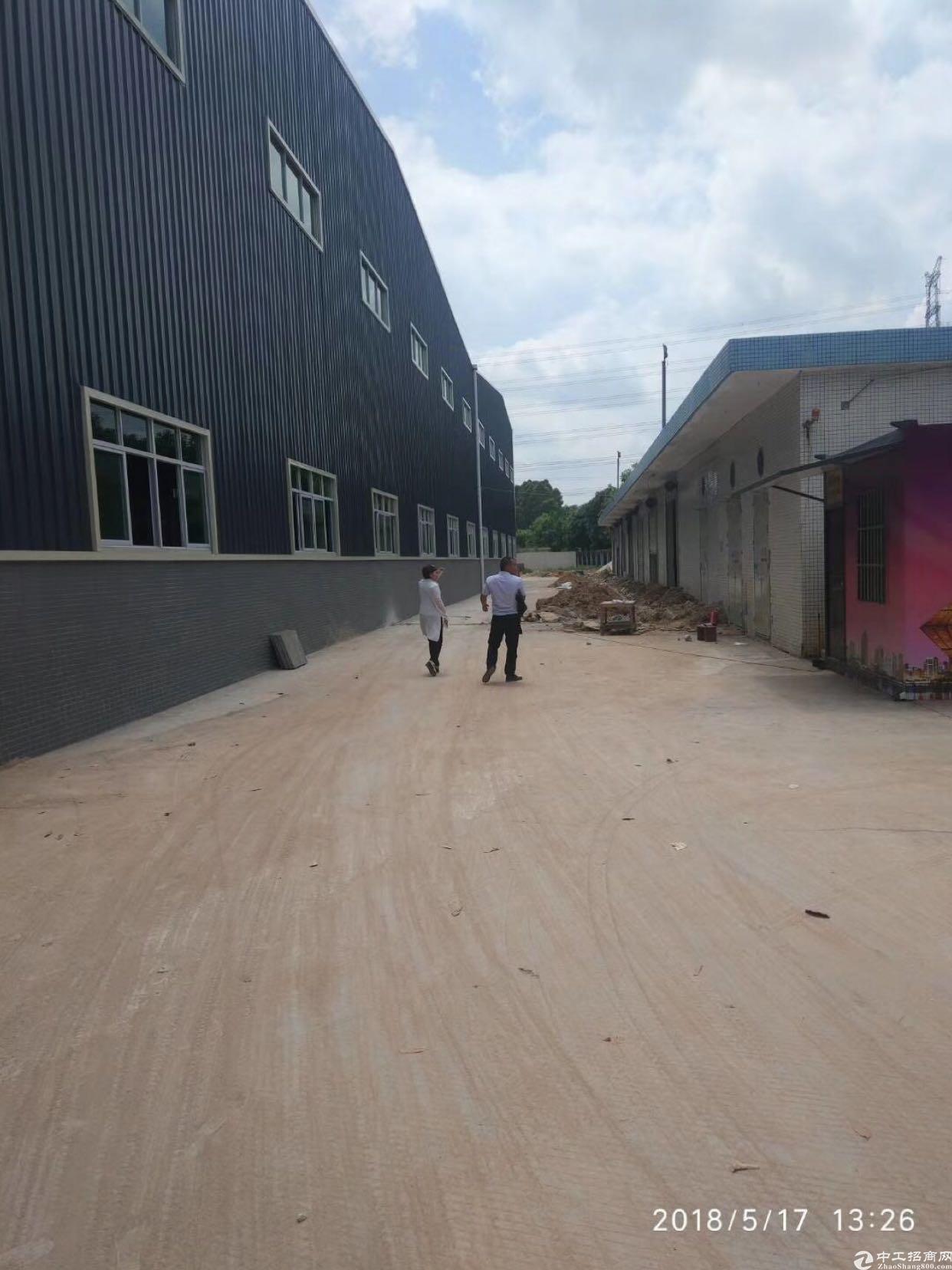 坪山滴水钢构10米可做仓库生产出租有红本面积8000平方