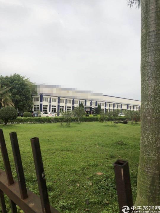 惠州博罗县惊现花园式纺织企业厂房,证件齐全,