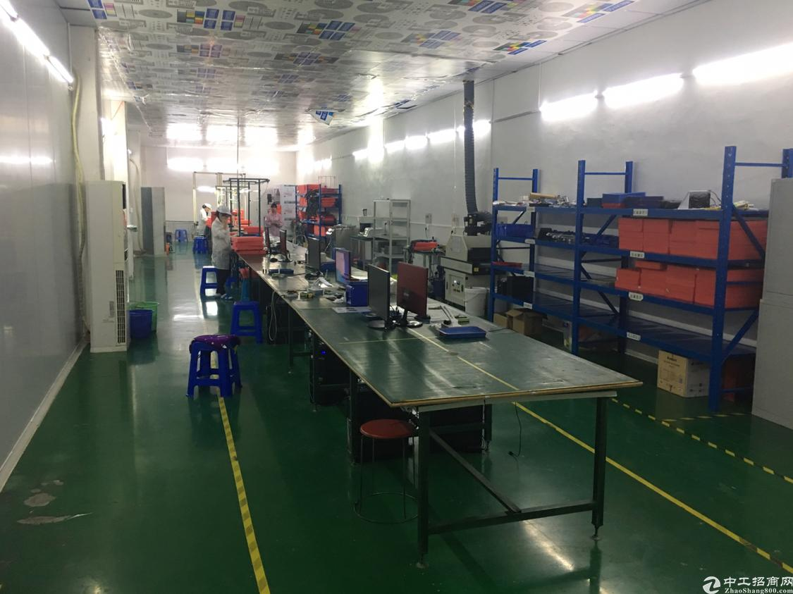 福永镇107国道旁工业区厂房整层1500平方转租,不用转让费-图6