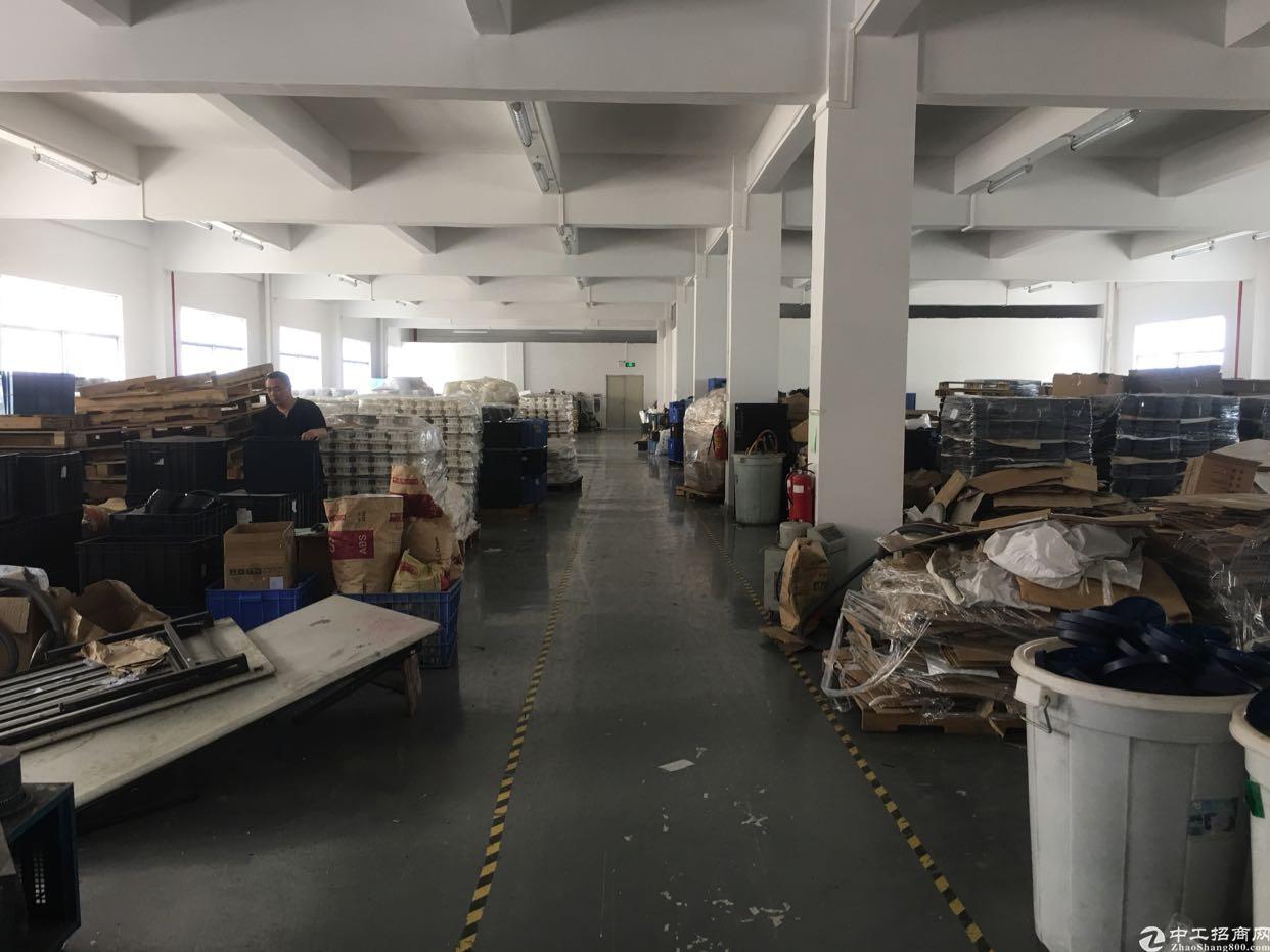 惠州原房东标准楼上1300平厂房可租小污染