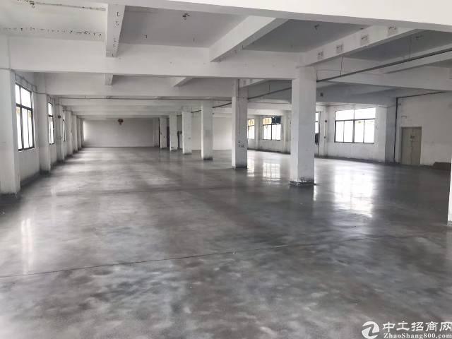 布吉上李朗工业区新出原房东楼上1000平带装修标准厂房出租