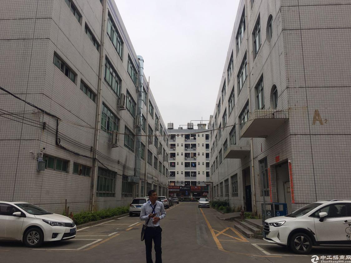 福永镇宝安大道地铁口整栋厂房实用面积9200平方出租