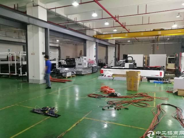 布吉李朗原房东整层3000平方精装厂房出租,实用面积2500
