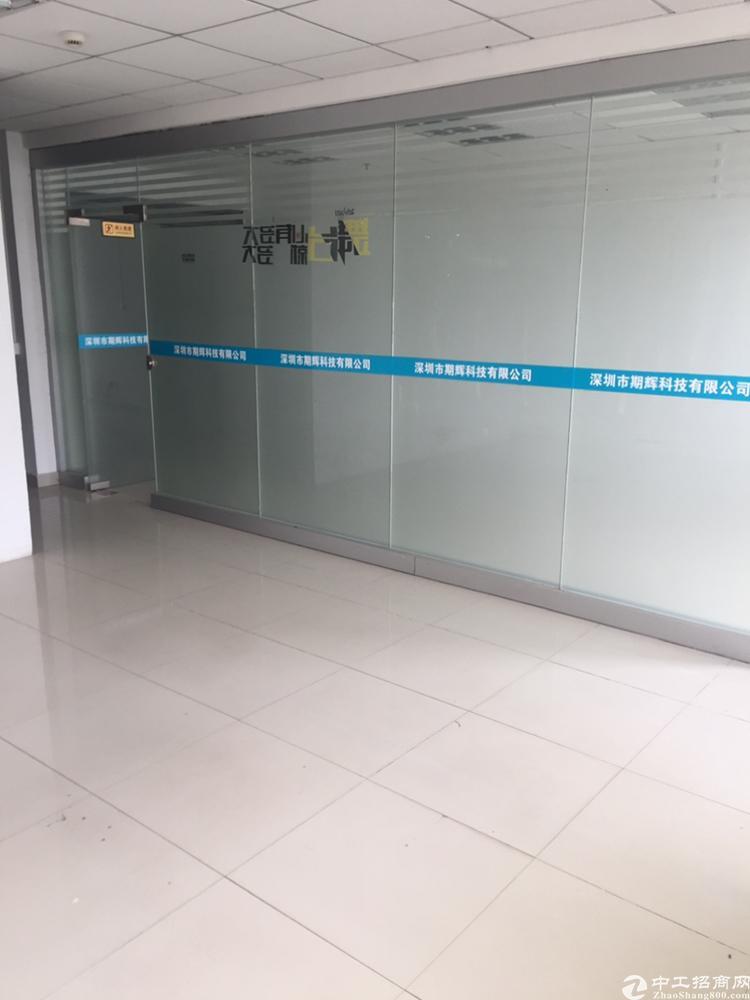 观澜福民/地铁口物业/精装修/带隔间小面积写字楼出租