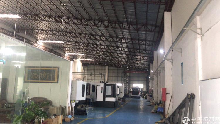 长安镇新出滴水12米钢构厂房1200平实际面积,