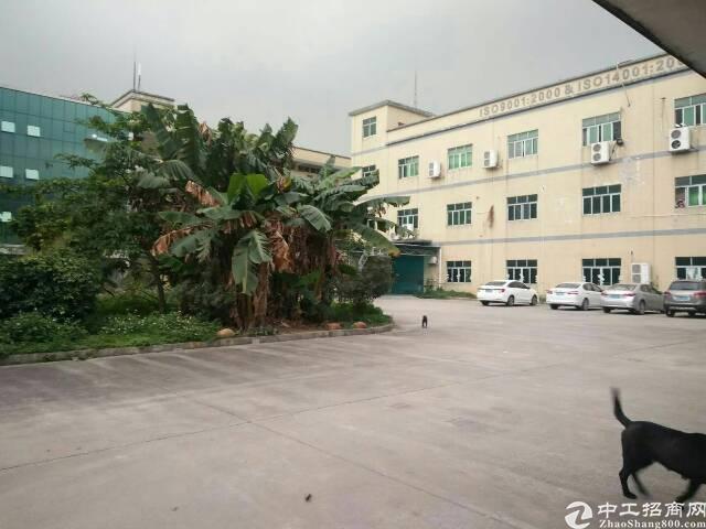东莞黄江镇有大量厂房招租工业用地可办环评带精装修出租