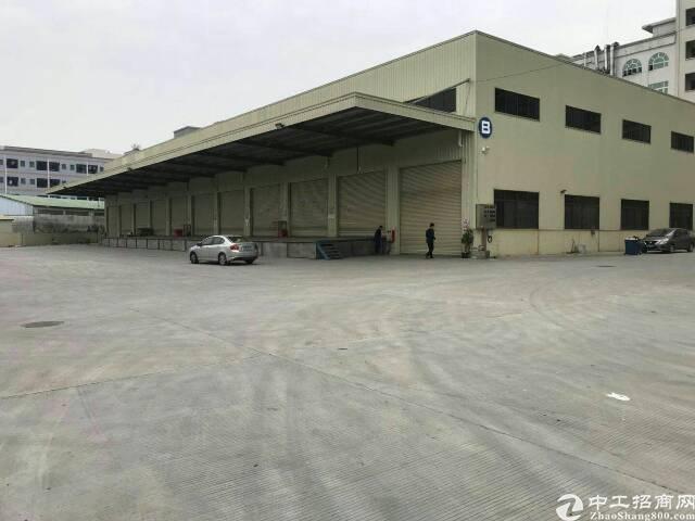 超低价现成物流仓4680方、带卸货平台、莞太路边