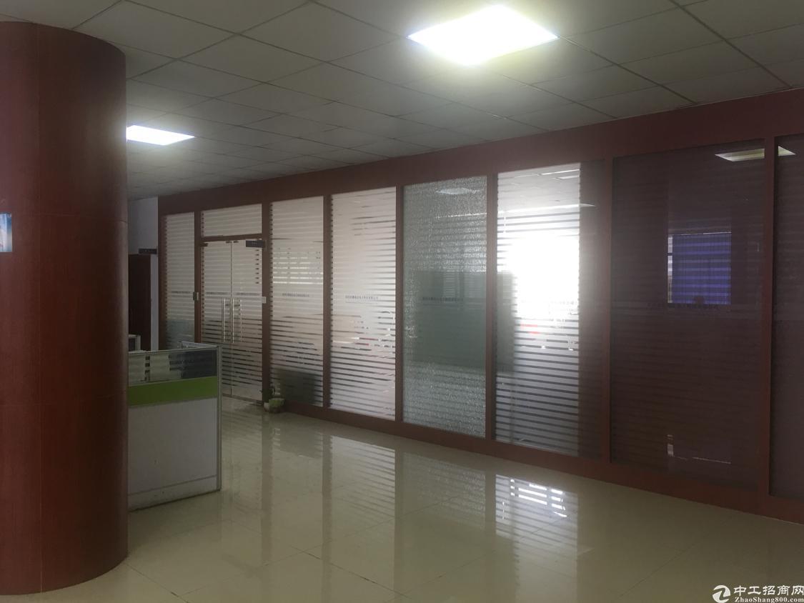 横岗力嘉路现成装修办公室300平方