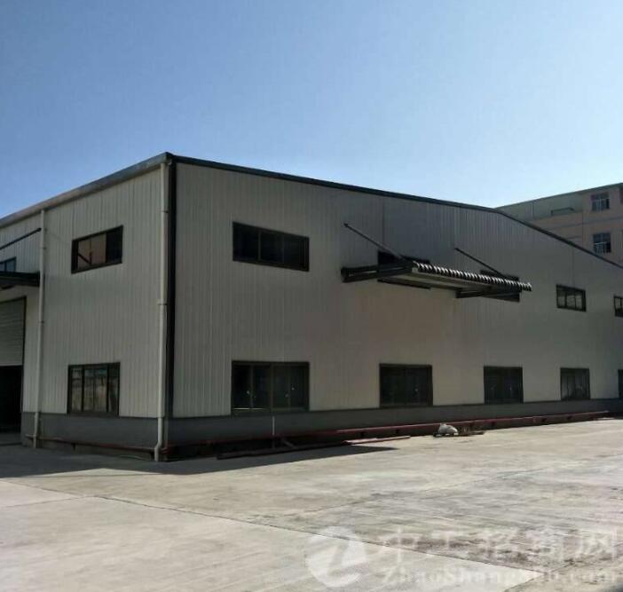 博罗园洲新出证件齐全的全新单一层钢构独院厂房出租