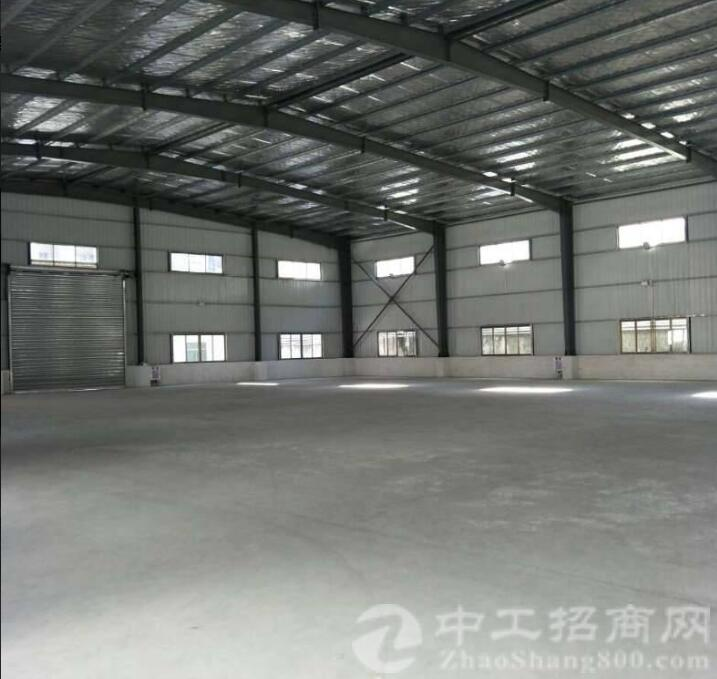 博罗园洲新出证件齐全的全新单一层钢构独院厂房出租-图2