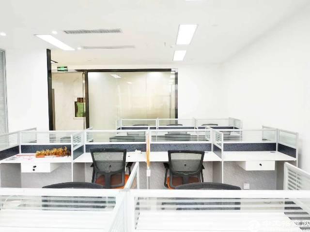 布吉木棉湾地铁口187平精装修带家私写字楼