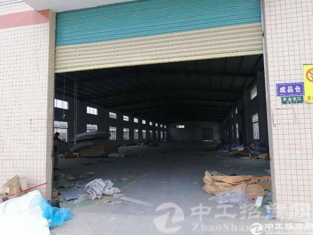 惠州惠阳区主干道边独院钢构厂房7000平米出租可分租