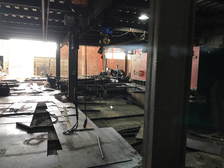惠州市马安镇标准钢结构厂房带牛角滴水八米可进拖头