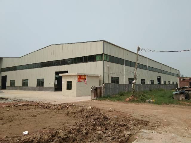 定建工程学院钢结构厂房