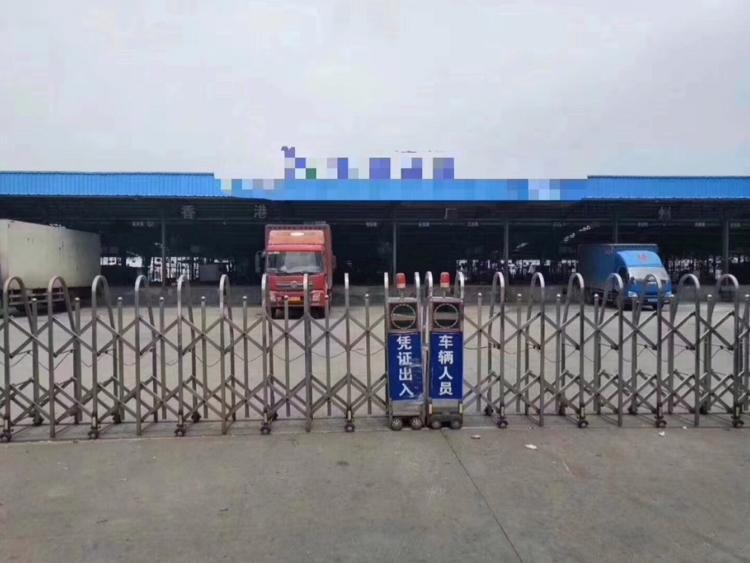 惠州市惠阳区新出物流仓库12000单一层钢构,带卸货平台