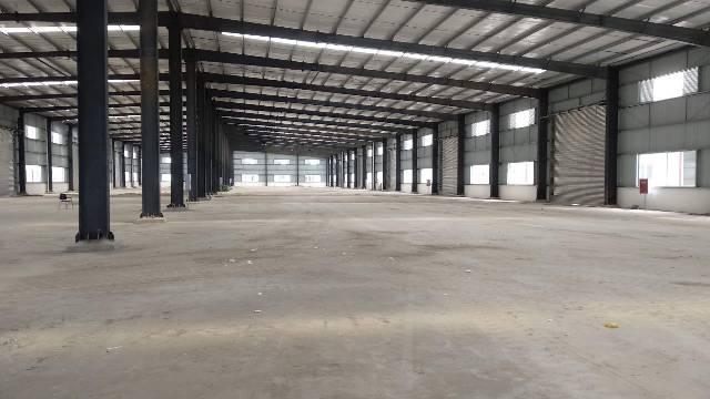 简阳800平米钢架厂房出租带行车交通便利