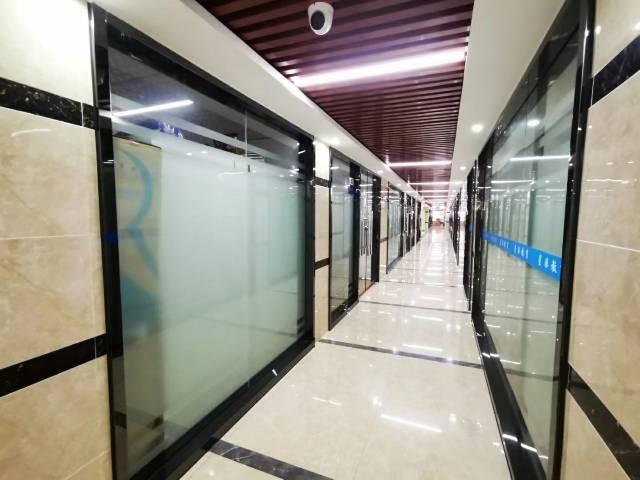 马鞍山地铁口精装修带家具260平方写字楼招租