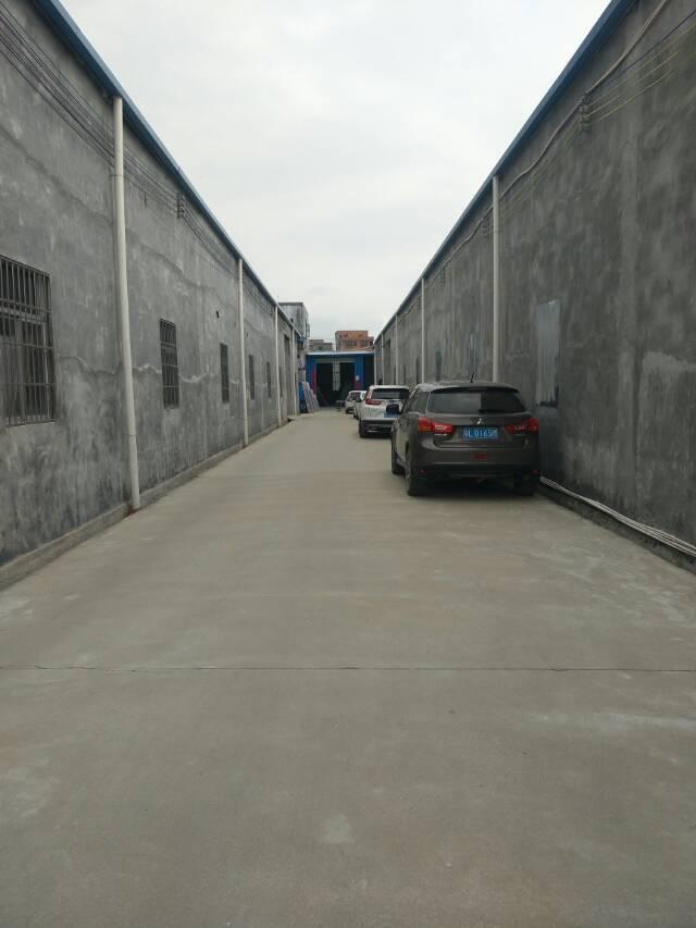 惠州市惠城区钢构厂房出租,空地面积大,带卸货平台,停车位充足