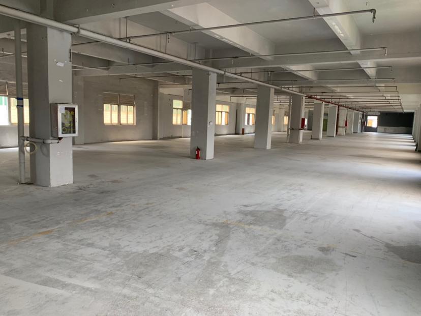 横岗力嘉工业区楼上厂房1200平米招租带消防喷淋