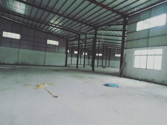 惠州市博罗县新出独门独院钢构厂房出租3800