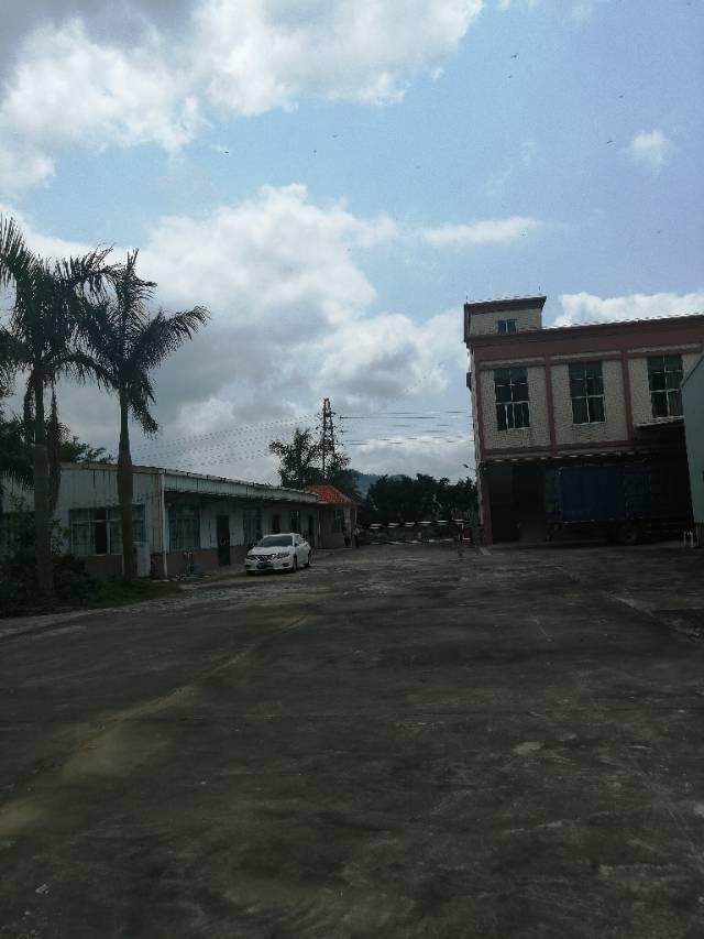 惠东白花镇占地5360㎡建筑1400㎡国有证厂房出售.