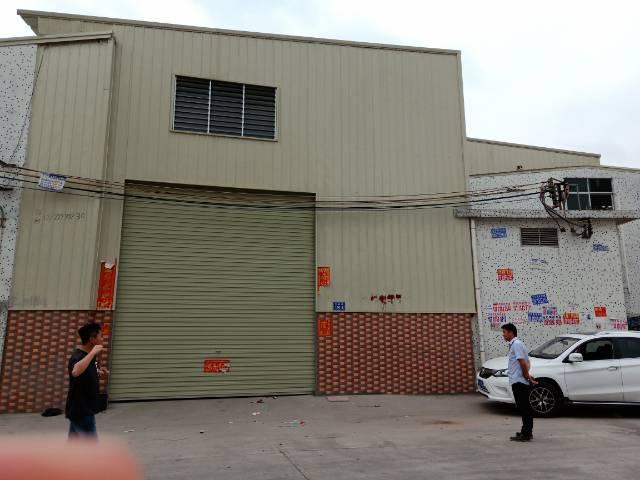 樟木头镇裕丰管理区独栋9米高单一层钢构3250平方出租