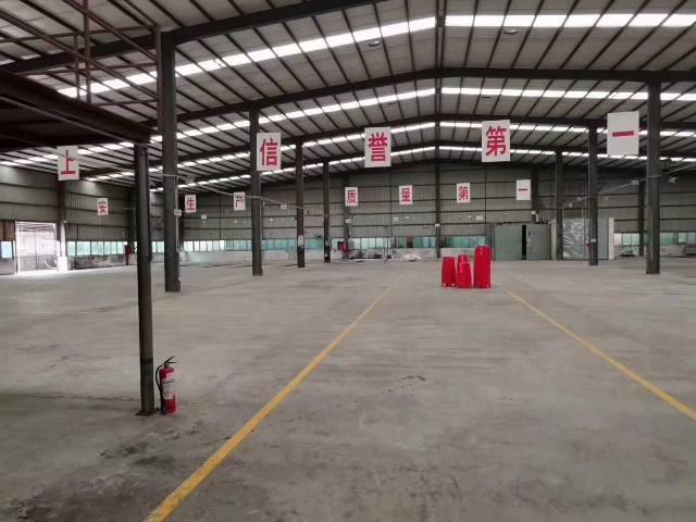 深圳松岗燕罗带红本滴水7米独栋钢构14000平米厂房出招租。