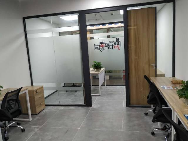 横岗地铁站500米红本办公室980元一间出租