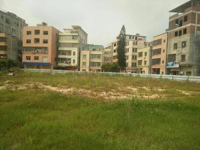 惠城区河南岸镇红光村红光幼儿园旁空地转租,面积3000平米,