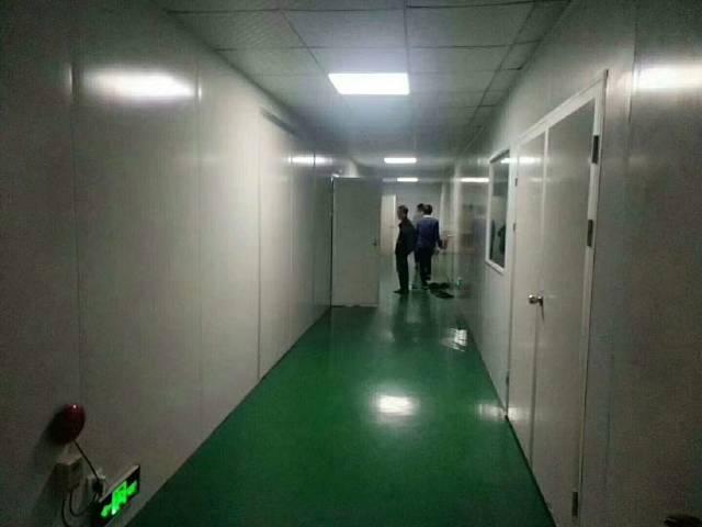 福永新出楼上无尘车间1300平方带豪华装修