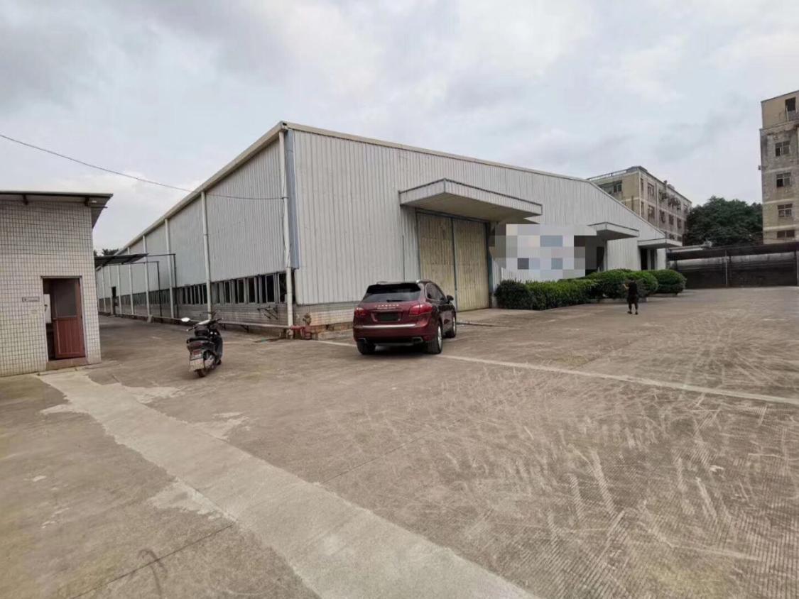 深圳宝安燕罗街道标准滴水7米高钢构厂房2栋(带行车),每栋5