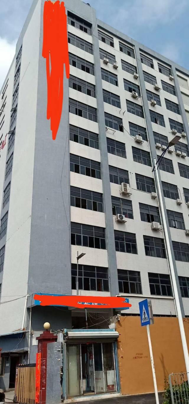 公明北环大道边楼上1700平豪华办公室装修厂房出租