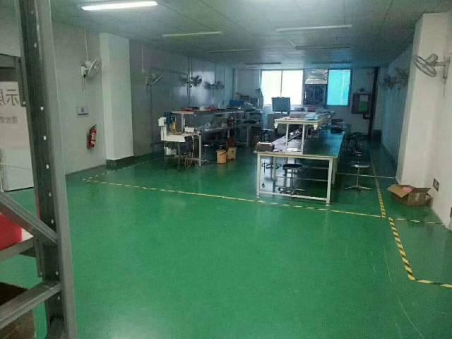 福永新出楼上无尘车间1300平方带豪华装修-图7